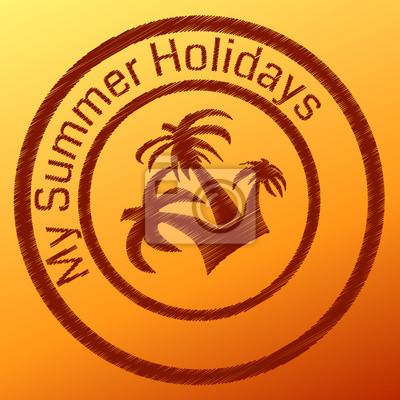 Sommer-Stempel