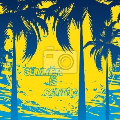 Sommer Urlaub Hintergrund