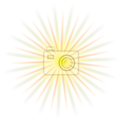 Sonne Gelb Fototapete Fototapeten Strahlend Gutes Wetter