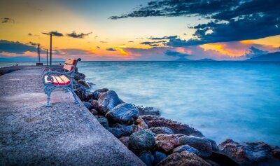 Fototapete Sonnenaufgang auf Kos Insel