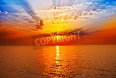 Fototapete Sonnenaufgang im Meer