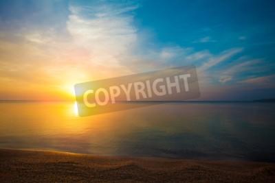 Fototapete Sonnenaufgang über dem Meer