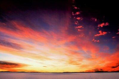 Fototapete Sonnenuntergang