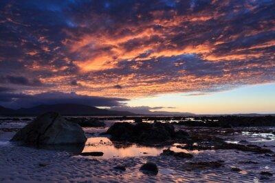 Fototapete Sonnenuntergang am Shore Acre