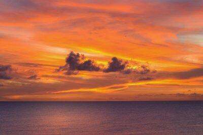 Fototapete Sonnenuntergang in Niue.