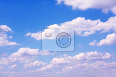 Fototapete sonnigen Himmel Hintergrund und Wolken
