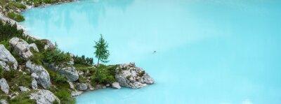 Fototapete Sorapis-See, Dolomiten Berg