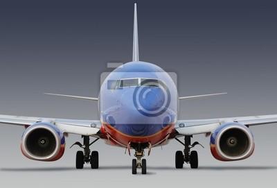 Southwest Airlines Flugzeug mit Clipping-Pfad