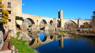 Fototapete Spanien - Besalú