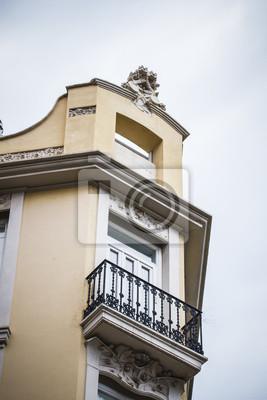 Mediterrane Architektur spanischen stadt valencia mediterrane architektur fototapete