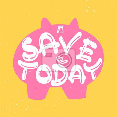 Sparschwein sparen heute