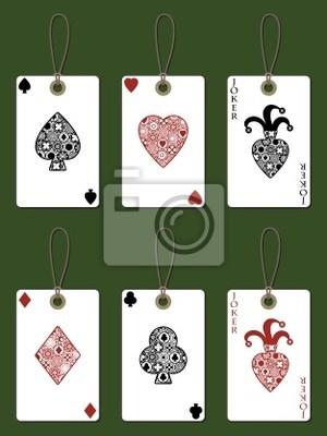 Spielkarte-Tags
