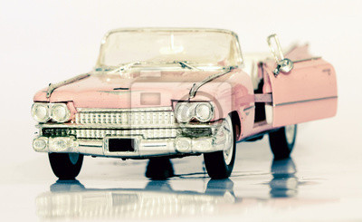 Spielzeugautos fototapete • fototapeten Wechselrahmen, cadillac ...