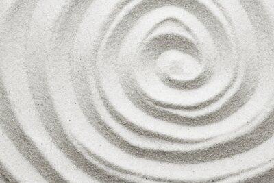 Fototapete Spiral in den Sand