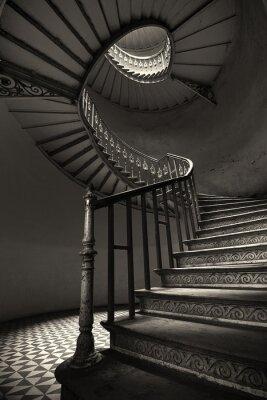 Fototapete Spiral Stairs