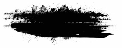Fototapete Splatter Paint Texture . Distress Grunge background . Scratch, Grain, Noise rectangle stamp . Black Spray Blot of Ink.Place illustration Over any Object to Create Grungy Effect .abstract vector.