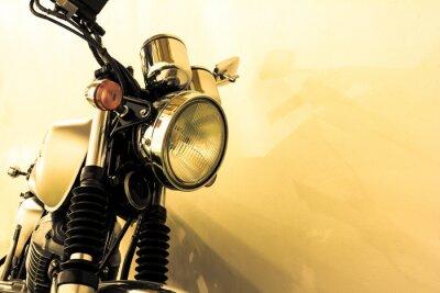 Fototapete Split toning  vintage Motorcycle