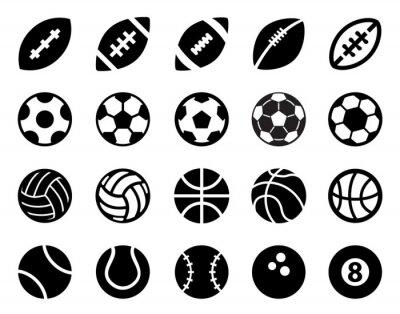 Fototapete Sport Balls