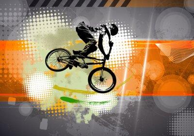 Fototapete Sport, BMX Abbildung