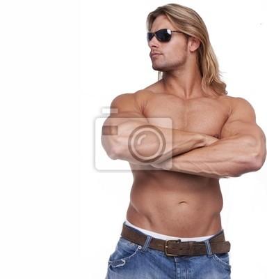 Haare blonde mann lange Lange Haare