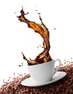 Fototapete Spritzwasser Kaffee