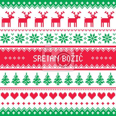Serbisch Frohe Weihnachten.Was Heibt Frohe Weihnachten Auf Kroatisch Weihnachten In