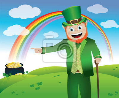 St. Patricks Day Leprechaun
