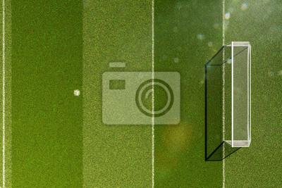 Stadion Soccer in Tageslicht 3d render