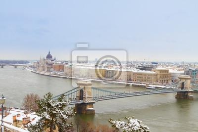 Fototapete Stadtbild von Budapest