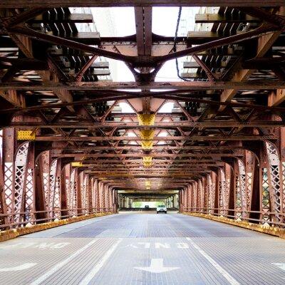 Fototapete Stadtbrücke