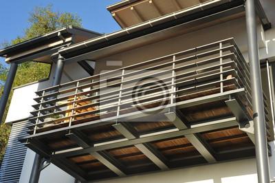 Stahl Balkon Mit Uberdachung Fototapete Fototapeten Erker Rollo