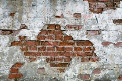 Fototapete Stara cegła - ściana, mur