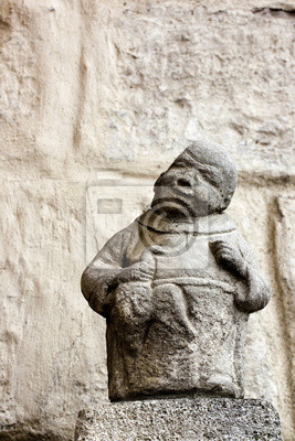 Statuette moine