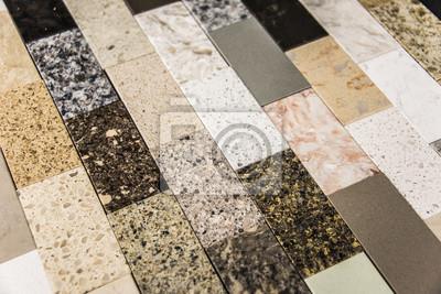 Fototapete: Stein küche arbeitsplatte farbmuster
