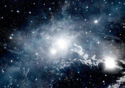 Fototapete Sterne, Staub und Gasnebel