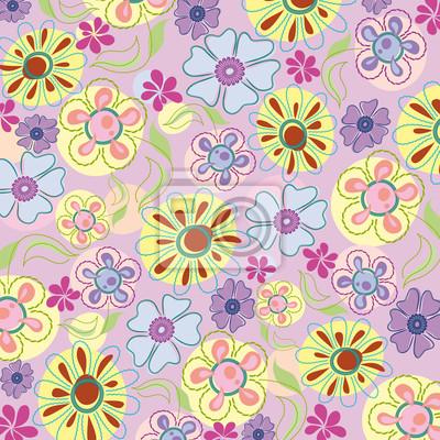 Stickerei von Blumen