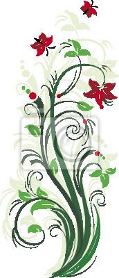 Stilisierte floral Baum. Vektor-Illustration