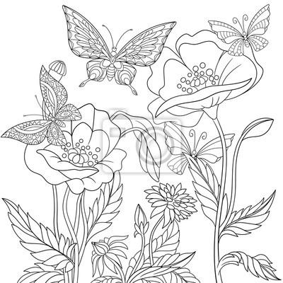 Charmant Einfache Schmetterling Färbung Seite Bilder - Entry Level ...