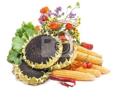 Stillleben. Gemüse