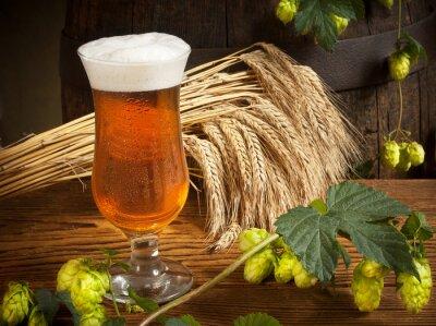 Fototapete Stillleben mit Bier
