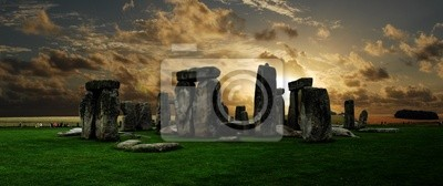 Stonehenge bei Sonnenuntergang