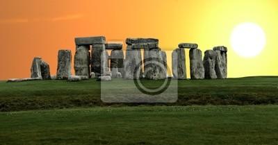 Stonehenge großen Panorama, United Kingdom