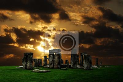Stonehenge Ruinen