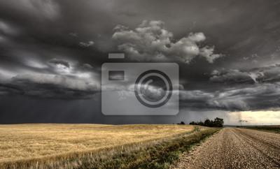 Fototapete Storm Clouds Saskatchewan