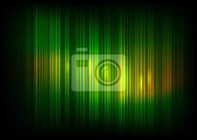 Fototapete Straight Lines Abstract Dark Green Background