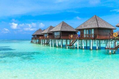 Fototapete Strand auf den Malediven