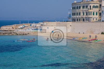 Fototapete Strand Und Meer, Gallipoli, Italien