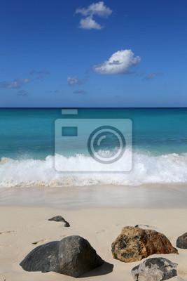 Fototapete Strand Und Meer Mit Wellen