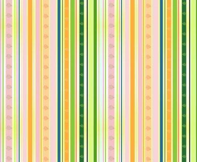 Streifen Muster mit farbigen Blätter im Herbst, hellen Farben.