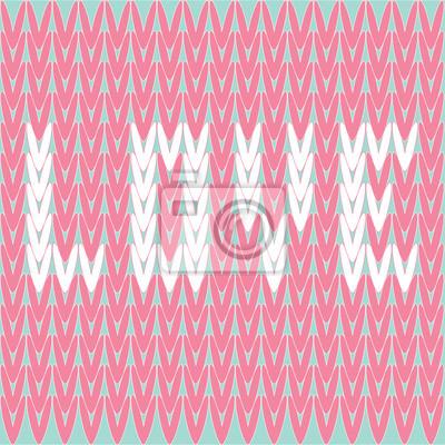 Strickpullover Vektor-Muster mit Wort Liebe. Card.